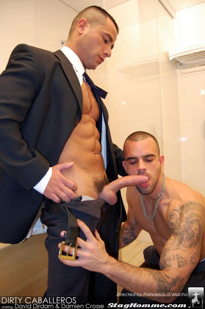 Damien Crosse David Dirdam Stag Homme Hot Muscled Men Gay sex 02 - Damien Crosse and David Dirdam