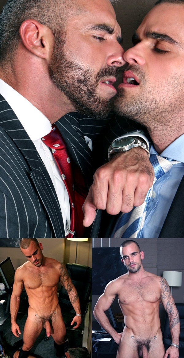 Men at Play suit and tie sex Damien Crosse and Samson Stone in pissing scene golden handshake 002 Download Full Gay Porn Gallery here 1f1 - Men at Play: Damien Crosse and Samson Stone