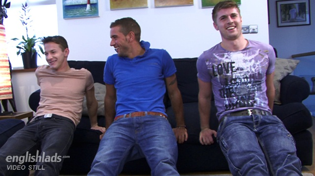 Straight pup Dan James our fitness trainer gets his cock butt worshipped by Dan Broughton and Darius 20120108 01 Download Full Stud Gay Porn Movies Here1 - Dan James, Darius Fernand and Dan Broughton for English Lads