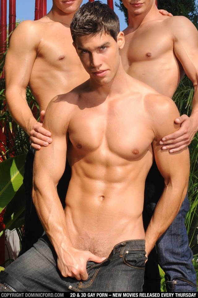 Kris-Evans-001-Young-Twink-Strips-Naked-and-Strokes-His-Cock-for-at-Dominic-Ford-photo