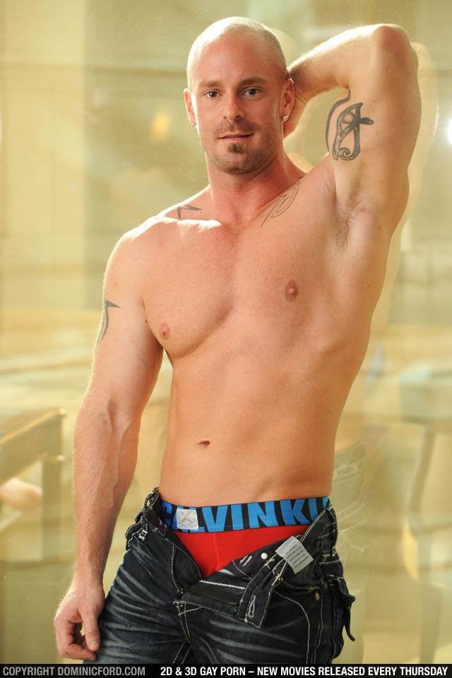 Mitch-Vaughn-Christoper-Daniels-003-Ripped-Muscle-Hunk-Strips-Naked-and-Strokes-His-Big-Hard-Cock-for-at-Dominic-Ford-photo