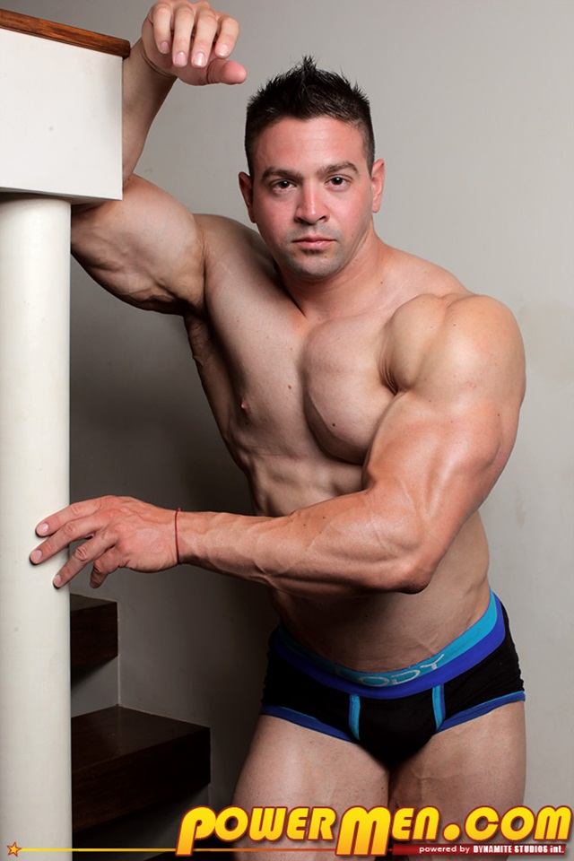 Mike-Rogers-nude-bodybuilder-001-Ripped-Muscle-Bodybuilder-Strips-Naked-and-Strokes-His-Big-Hard-Cock-for-at-Powermen-photo