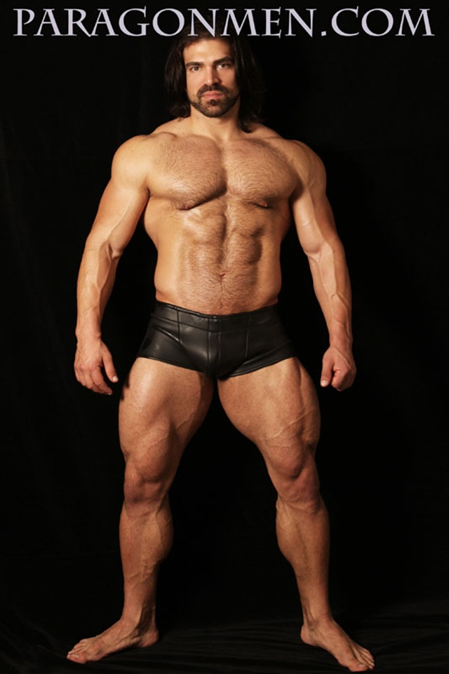 Jared Degado aka Vince Ferelli at Paragon Men 3 Ripped Muscle Bodybuilder Strips Naked and Strokes His Big Hard Cock photo1 - Jared Degado (Falcon Studios Vince  Ferelli) at Paragon Men