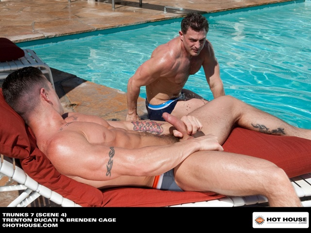 Trenton-Ducati-and-Brenden-Cage-at-Hothouse-1-Ripped-Muscle-Bodybuilder-Strips-Naked-and-Strokes-His-Big-Hard-Cock-photo