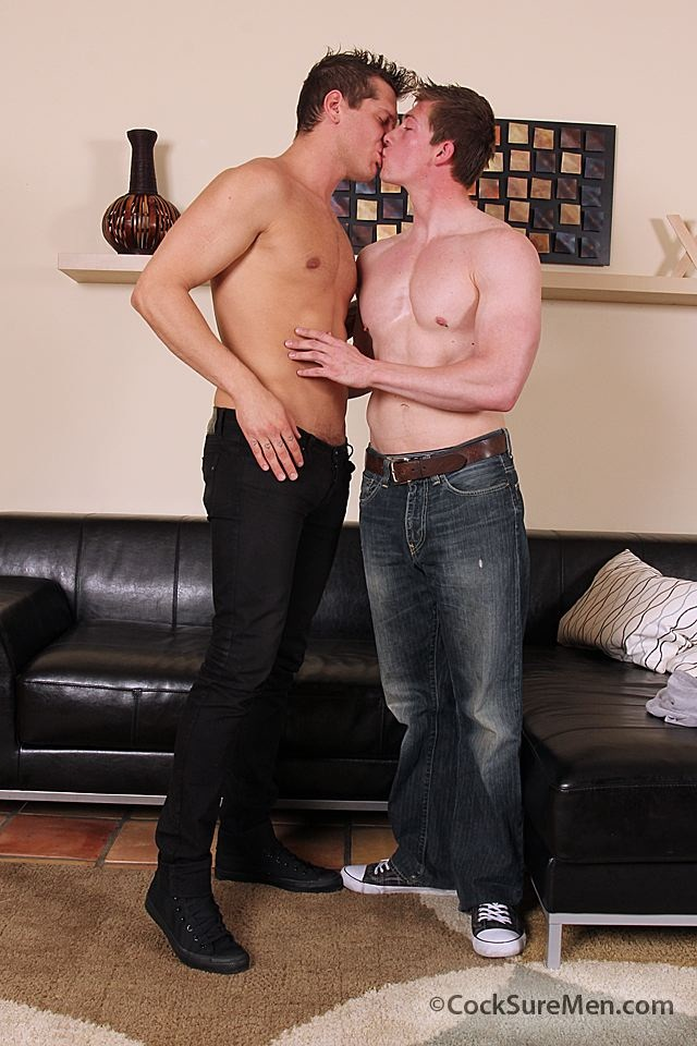 Will Parks and Parker London first time fuck at Cocksure Men 1 Young nude Boy Twink Strips Naked and Strokes His Big Hard Cock photo1 - Will Parks and Parker London first time fuck at Cocksure Men