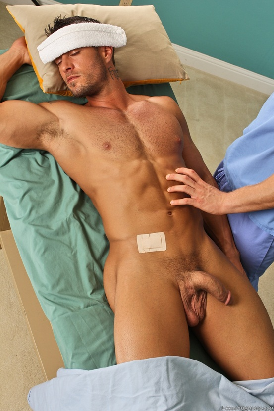 Cody Cummings physical with nurse Bradley Rose 2 Young nude Boy Twink Strips Naked and Strokes His Big Hard Cock photo1 - Cody Cummings physical with nurse Bradley Rose