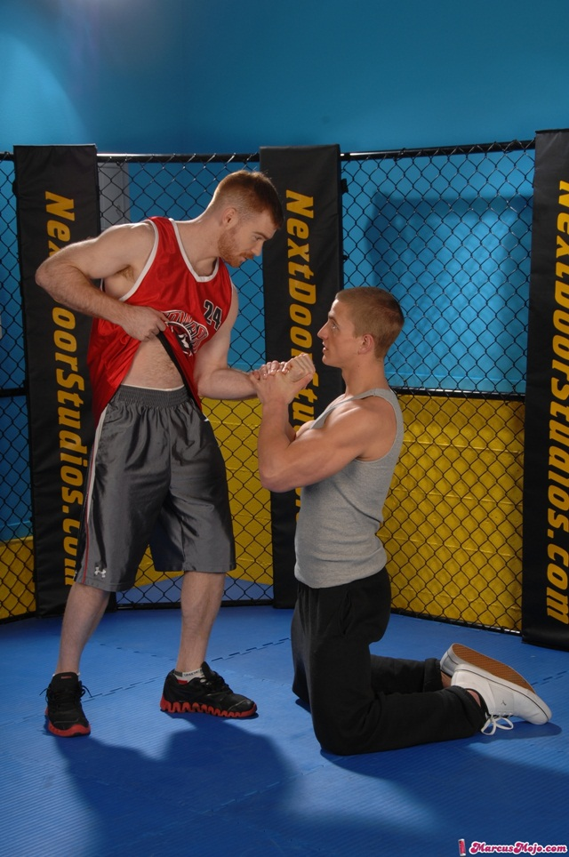 Marcus Mojo and James Jamesson 01 Ripped Muscle Bodybuilder Strips Naked and Strokes His Big Hard Cock torrent photo1 - Marcus Mojo and James Jamesson