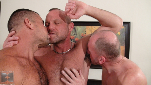 Bareback-fuck-threesome-Paul-Stag-and-Chad-Brock-with-Ben-Venido-02-Ripped-Muscle-Bodybuilder-Strips-Naked-and-Strokes-His-Big-Hard-Cock-torrent-photo