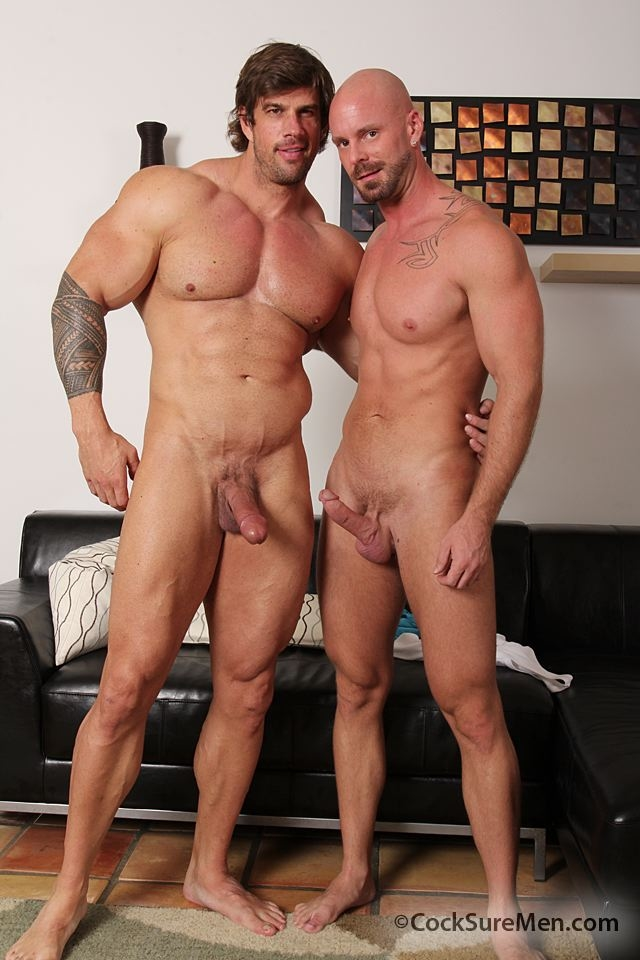 Gay porn star muscle hunk Zeb Atlas fucks ass of Mitch Vaughn Cosksure Men 02 Ripped Muscle Bodybuilder Strips Naked and Strokes His Big Hard Cock torrent photo1 - Gay porn star muscle hunk Zeb Atlas fucks ass of Mitch Vaughn