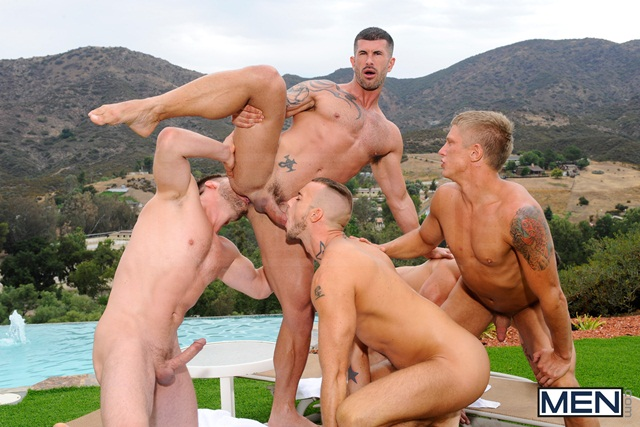 Poolside-orgy-with-Philip-Aubrey-Adam-Killian-Jessie-Colter-Trenton-Ducati-and-Hans-Berlin-04-Ripped-Muscle-Bodybuilder-Strips-Naked-and-Strokes-His-Big-Hard-Cock-torrent-photo