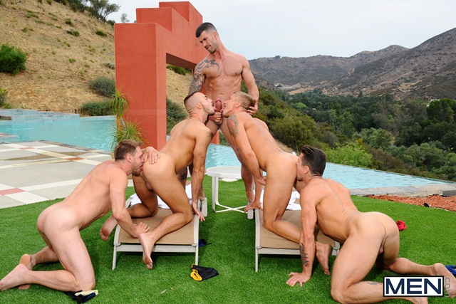 Poolside-orgy-with-Philip-Aubrey-Adam-Killian-Jessie-Colter-Trenton-Ducati-and-Hans-Berlin-05-Ripped-Muscle-Bodybuilder-Strips-Naked-and-Strokes-His-Big-Hard-Cock-torrent-photo