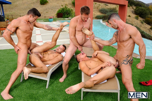 Poolside-orgy-with-Philip-Aubrey-Adam-Killian-Jessie-Colter-Trenton-Ducati-and-Hans-Berlin-07-Ripped-Muscle-Bodybuilder-Strips-Naked-and-Strokes-His-Big-Hard-Cock-torrent-photo