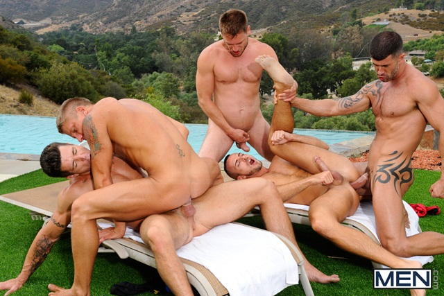 Poolside-orgy-with-Philip-Aubrey-Adam-Killian-Jessie-Colter-Trenton-Ducati-and-Hans-Berlin-08-Ripped-Muscle-Bodybuilder-Strips-Naked-and-Strokes-His-Big-Hard-Cock-torrent-photo