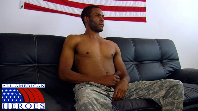 Black-military-man-Private-Robert-camouflage-pants-cums-All-American-Heroes-01-Ripped-Muscle-Bodybuilder-Strips-Naked-and-Strokes-His-Big-Hard-Cock-torrent-photo