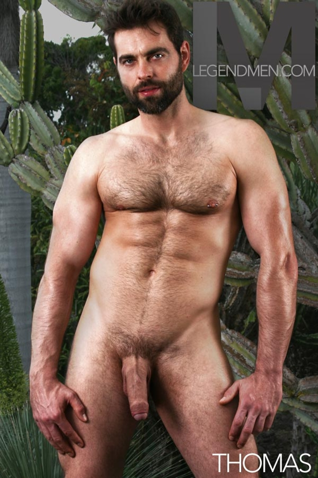 Legend Men Thomas Ripped Muscle Bodybuilder Strips Naked and Strokes His Big Hard Cock torrent photo - Legend Men - New muscle meat!