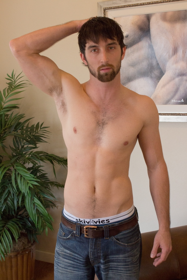 Hairy-chest-hunk-Jeremy-Stone-jerks-his-big-cock-Southern-Strokes-02-photo