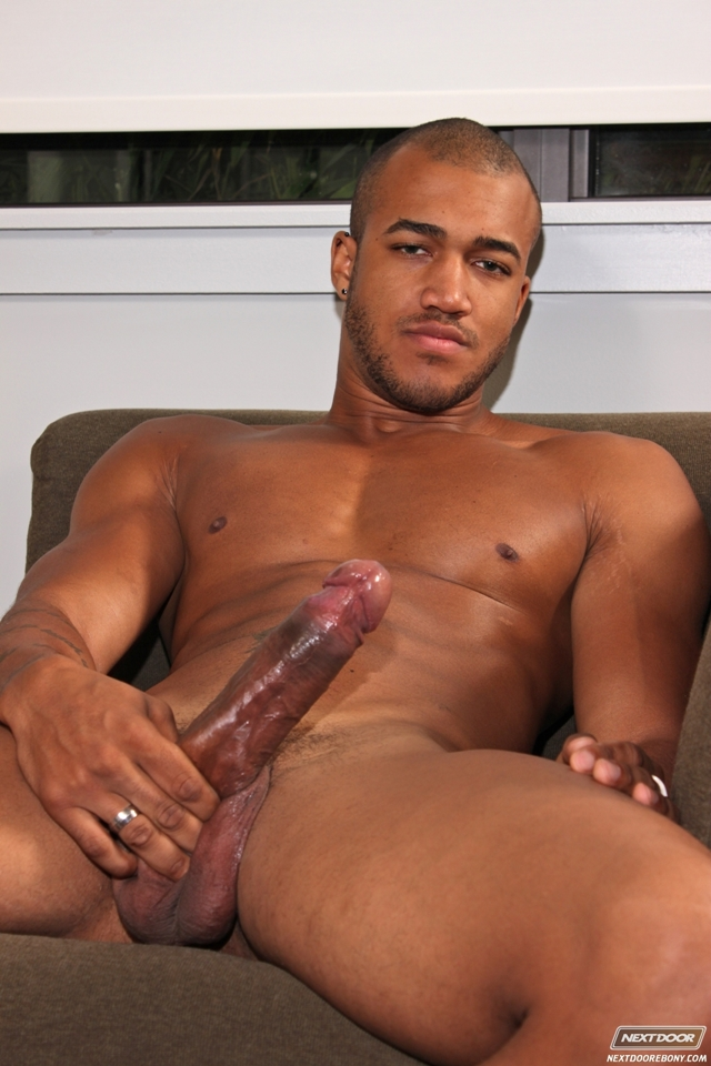 Black gay threesome with Race Cooper, Rob Lee and Kiern Duecan at Next Door Ebony