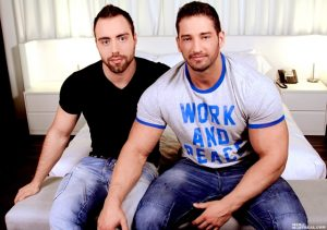 Christian Power and Alec Leduc Gay Porn Star Men of Montreal naked muscle hunks huge cock muscled bodybuilder 01 pics gallery tube video photo 300x211 - Christian Power and Alec Leduc