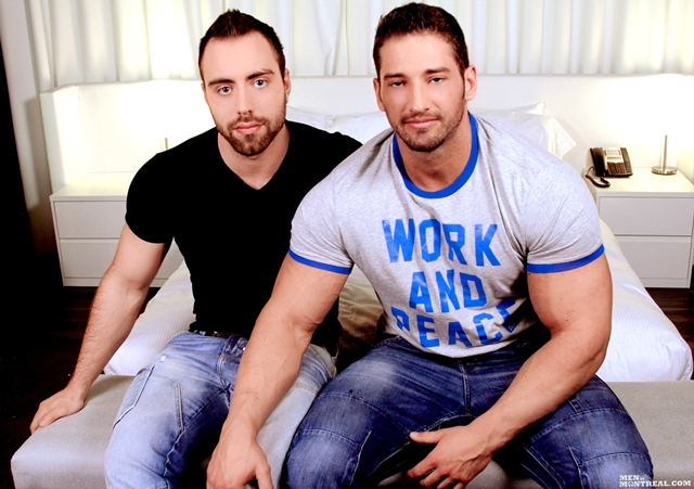 Christian Power and Alec Leduc Gay Porn Star Men of Montreal naked muscle hunks huge cock muscled bodybuilder 01 pics gallery tube video photo - Christian Power and Alec Leduc