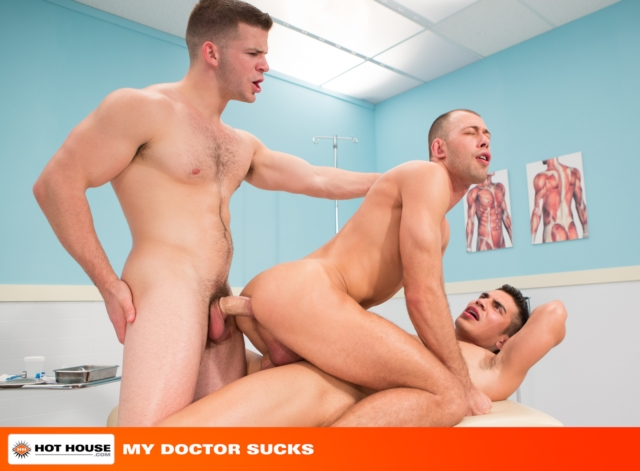 Brandon Jones and Angel Rock Hothouse gay porn stars naked guys muscle hunks muscled cocks anal sex 09 pics gallery tube video photo - Brandon Jones and Angel Rock