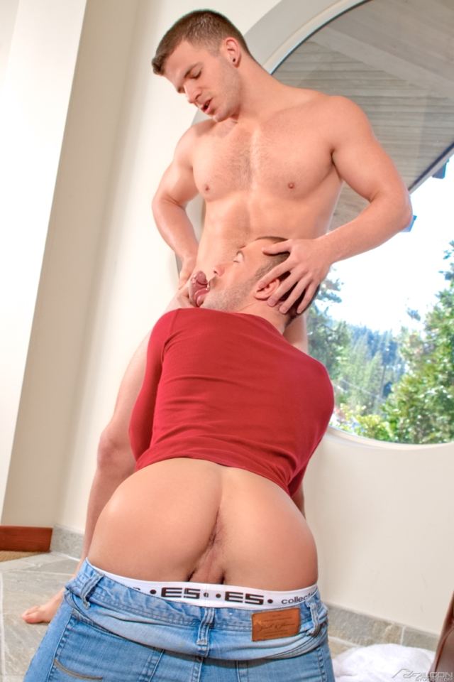 Brandon Jones and Angel Rock Falcon Studios Gay Porn Star Muscle Hunks Naked Muscled Men young jocks ripped abs 03 pics gallery tube video photo - Brandon Jones and Angel Rock