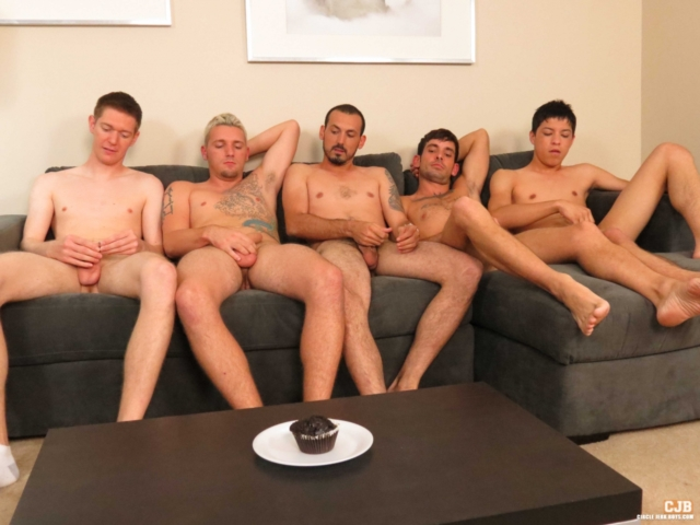 Jason Lee and Joshua Evans Circle Jerk Boys Gay Porn Star young dude naked stud nude guys jerking huge cock cum orgasm 01 gay porn reviews pics gallery tube video photo - Jason Lee and Joshua Evans