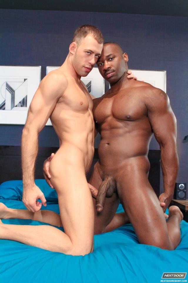 Marc Williams and Brandon Jones Next Door black muscle men naked black guys nude ebony boys gay porn 01 gallery video photo - Marc Williams and Brandon Jones