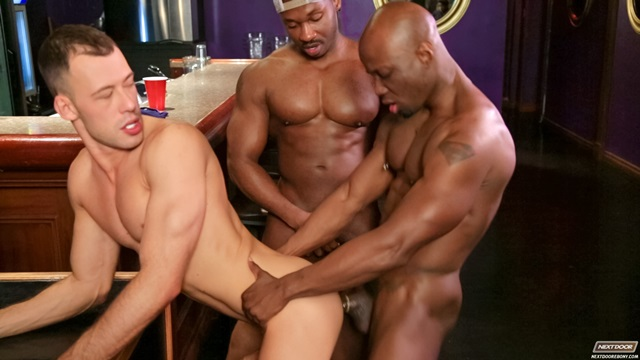 Brandon Jones and Jay Black Next Door black muscle men naked black guys nude ebony boys gay porn african american men 002 gallery video photo - Brandon Jones and Jay Black