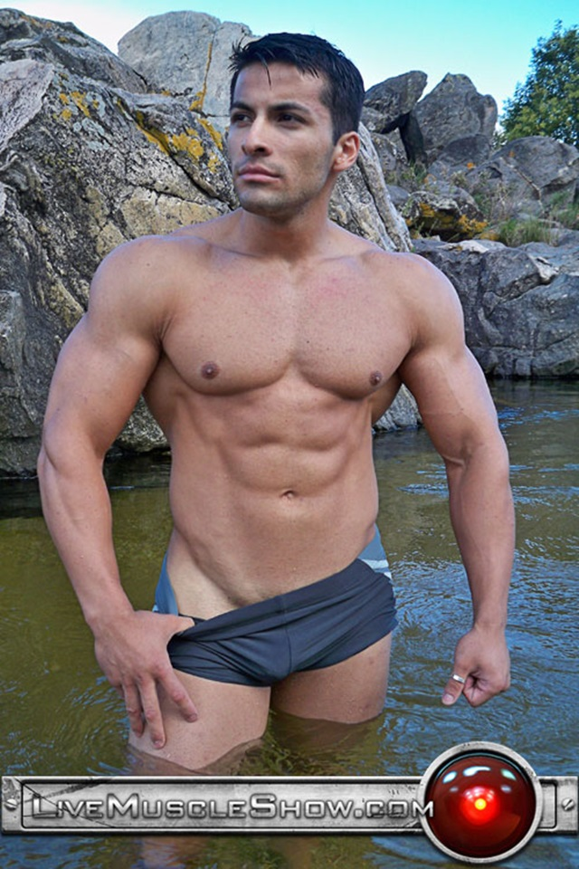 Benjamin Jackson Live Muscle Show Gay Porn Naked Bodybuilder nude bodybuilders gay fuck muscles big muscle men gay sex 002 gallery video photo - Benjamin Jackson