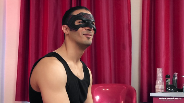 Enrike Maskurbate Young Sexy Naked Men Nude Boys Jerking Huge Cocks Masked Mask 002 gallery photo - Enrike and Pascal