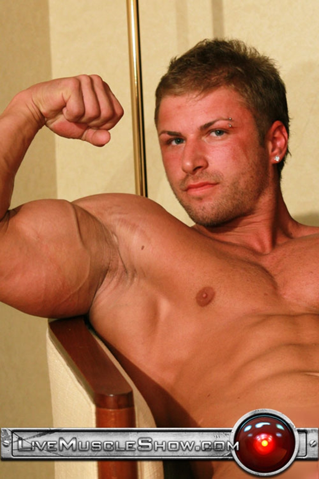 Live Muscle Show Kane Griffin muscle builder muscled hunk young abdominal muscles live webcam chat 002 male tube red tube gallery photo - Kane Griffin