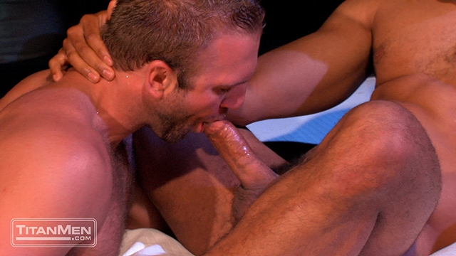 Titan Men Tom Wolfe cock Jay Bentley whips fucking bottom hard cock rides ass hairy chested hunks 010 male tube red tube gallery photo - Jay Bentley and Tom Wolfe