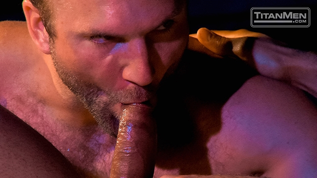Titan Men Tom Wolfe cock Jay Bentley whips fucking bottom hard cock rides ass hairy chested hunks 012 male tube red tube gallery photo - Jay Bentley and Tom Wolfe