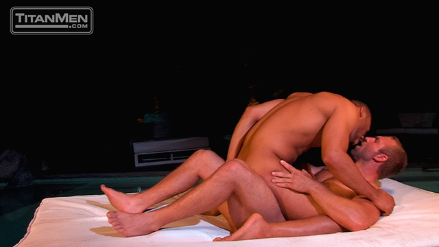 Titan Men Tom Wolfe cock Jay Bentley whips fucking bottom hard cock rides ass hairy chested hunks 018 male tube red tube gallery photo - Jay Bentley and Tom Wolfe