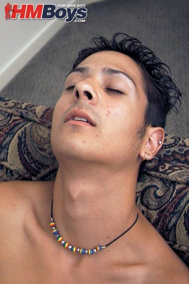 HMBoys Xavier F strips white socks thick uncut boy cock jerks moans orgasm unloads gush boy cum 016 male tube red tube gallery photo - Xavier F