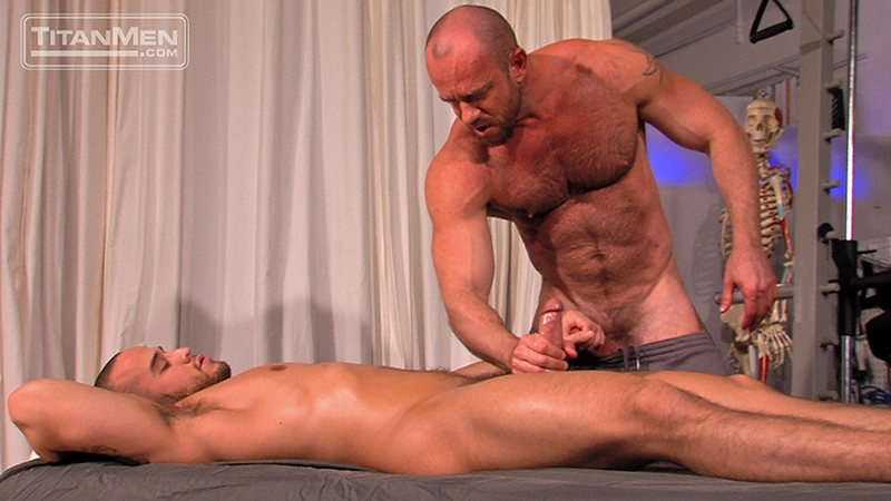 TitanMen Matt Stevens strokes Alex Graham massive arm squirts a hot wad pecs rubs wet dick bottom balls 001 male tube red tube gallery photo - Alex Graham and Matt Stevens