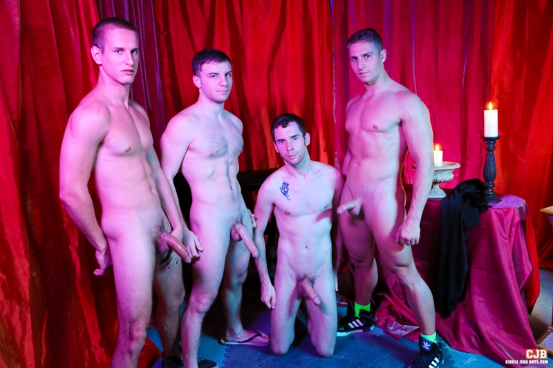 CircleJerkBoys Tripp Townsend secret fittest jocks big boners initiation ritual cumshots boys jerking fraternity members 001 tube download torrent gallery photo - Jacques LaVere, Logan Vaughn, Doug Acre and Tripp Townsend