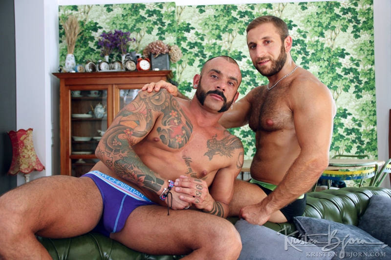 KristenBjorn Jalil Jafar Juanjo Rodriguez hot sexy masculine rough sex inked muscular body huge cock smooth asshole ass cumshots abs chest 002 tube download torrent gallery sexpics photo - Jalil Jafar and Juanjo Rodriguez