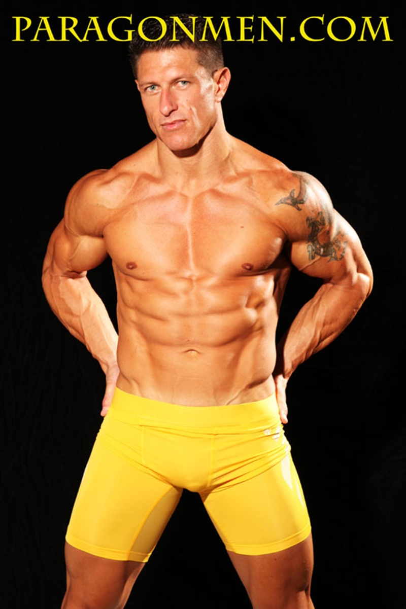 ParagonMen Ripped tanned naked muscle bodybuilder Bryce Evans underwear nude big cock huge tattoos jerks huge load muscle cum 004 tube download torrent gallery sexpics photo - Bryce Evans