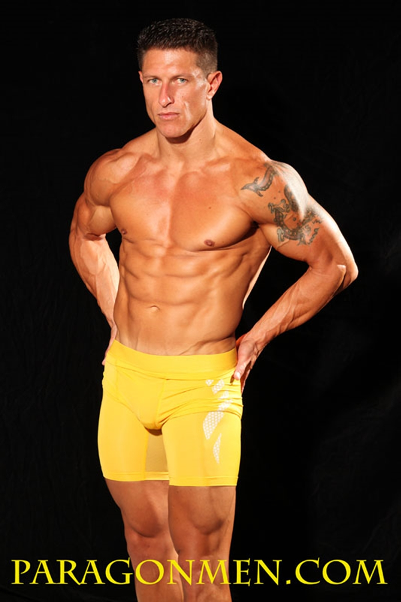 ParagonMen Ripped tanned naked muscle bodybuilder Bryce Evans underwear nude big cock huge tattoos jerks huge load muscle cum 006 tube download torrent gallery sexpics photo - Bryce Evans