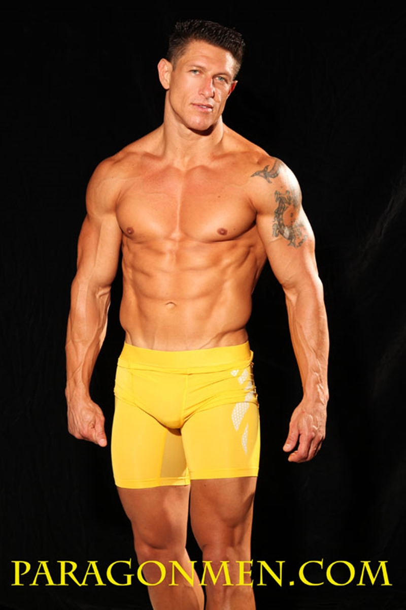 ParagonMen Ripped tanned naked muscle bodybuilder Bryce Evans underwear nude big cock huge tattoos jerks huge load muscle cum 007 tube download torrent gallery sexpics photo - Bryce Evans