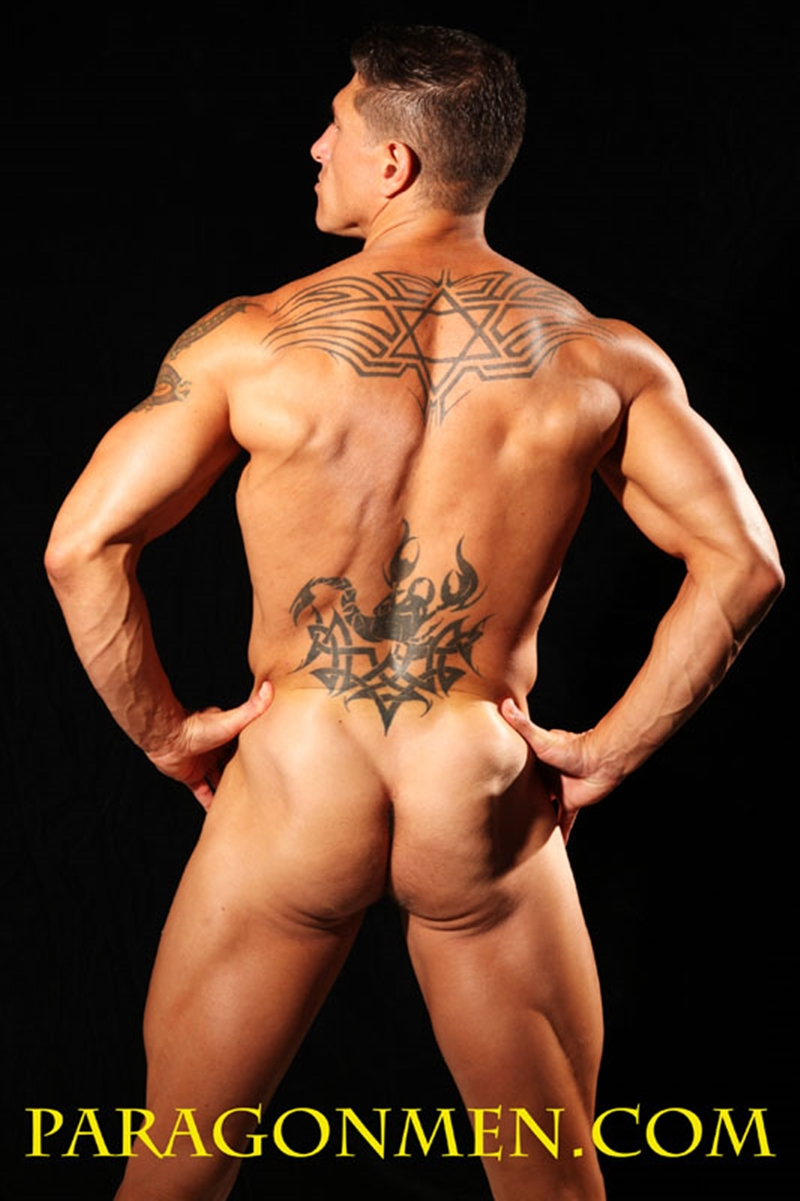ParagonMen Ripped tanned naked muscle bodybuilder Bryce Evans underwear nude big cock huge tattoos jerks huge load muscle cum 012 tube download torrent gallery sexpics photo - Bryce Evans
