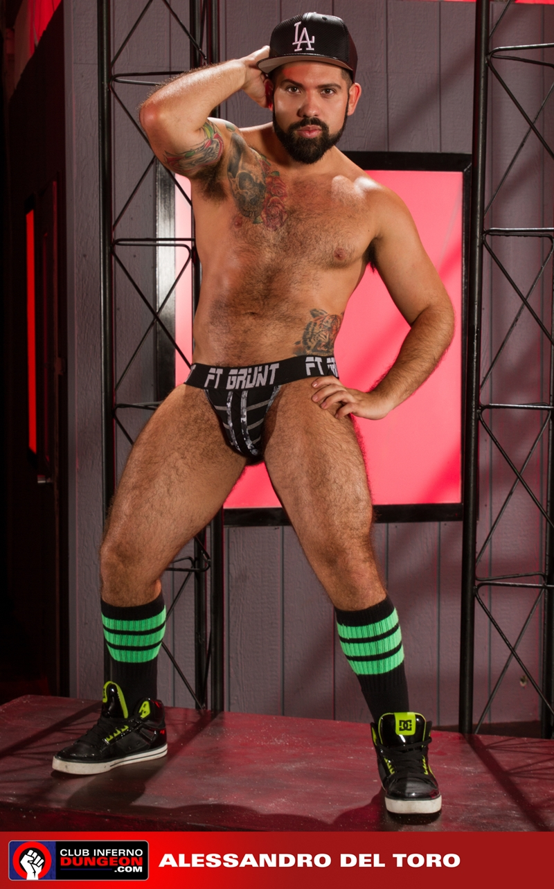 ClubInfernoDungeon hairy ass hole Boyhous Alessandro del Toro rosebud glove hand fisting hole stretching whips cock cum 002 tube video gay porn gallery sexpics photo - Alessandro Del Toro and Boyhous