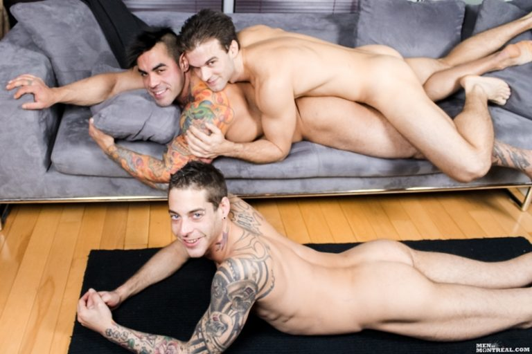MenofMontreal Gabriel Clark suck Ben Rose fucks Emilio Calabria football horny young hunks soccer naked bare asses big dicks 001 tube video gay porn gallery sexpics photo 768x512 - Gay gang bang Gabriel Clark, Ben Rose & Emilio Calabria fucking
