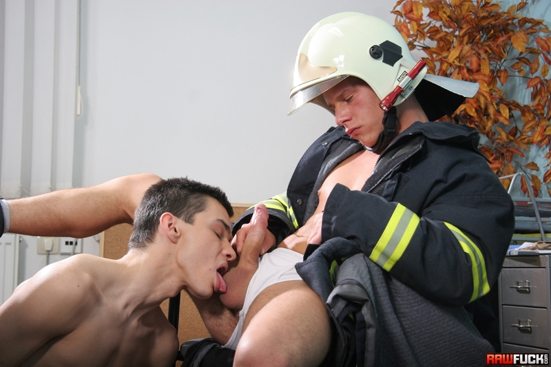 RawFuck Nico Moratti fireman Jack Moon rimming raw fucking gay bareback smooth boy butt blowjob horny young boy 001 tube video gay porn gallery sexpics photo - Nico Moratti fucked by fireman Jack Moon