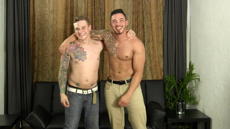 StraightFraternity buddy boned Cory sucks huge dick Javy fuck bareback shoots huge jizz load cum bubble butt straight naked men 001 gay porn video porno nude movies pics porn star sex photo - Cory sucks Javy's dick then bends over and lets Javy fuck him bareback