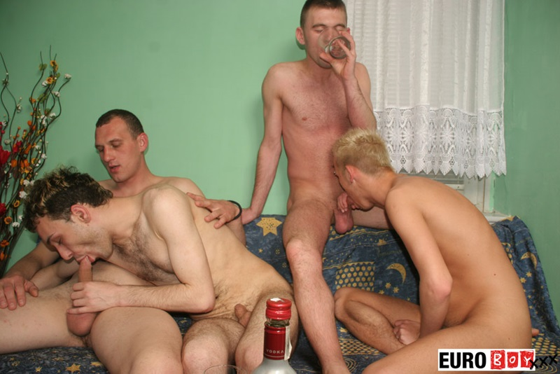 Euroboyxxx hung guys uncut cock Phil big thug blonde Samir hairy slut boy arse wank jizz bareback ass fucking raw twink cum dumpster 01 gay porn star sex video gallery photo - Four overly hung guys with uncircumcised cocks hardcore ass fucking orgy