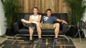 StraightFraternity naked virgin gay for pay Thomas bareback ass anal fucking Jeff fucking mutual cocksucking jerking big straight dicks 01 gay porn star sex video gallery photo 300x169 - Rikk York kisses Brandon Moore for being such an amazing fisting bottom