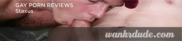 staxusreview - Oscar Ricci deep throats Roman Smid's closely shaved big cock