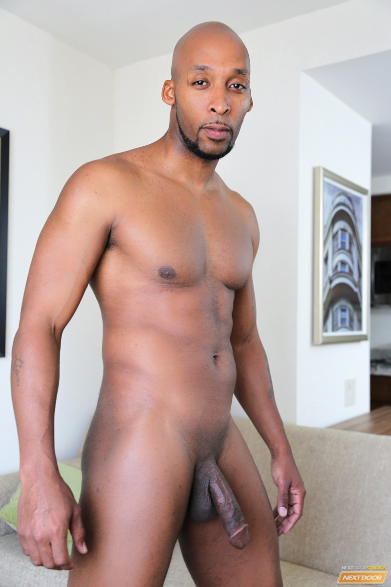 NextDoorEbony naked black hunks King B Ramses Staxx fat ebony cock tight muscle licks ass hole rimming fucking cocksucker anal assplay 02 gay porn star tube sex video torrent photo - Staxx fucks King B while Ramsees enjoys King's tongue in his ass